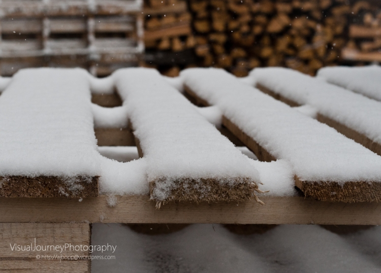 Snow and Wood