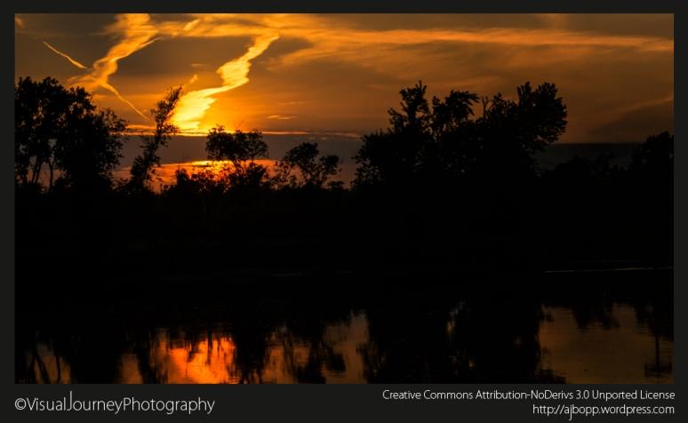 Sunset On The Cedar