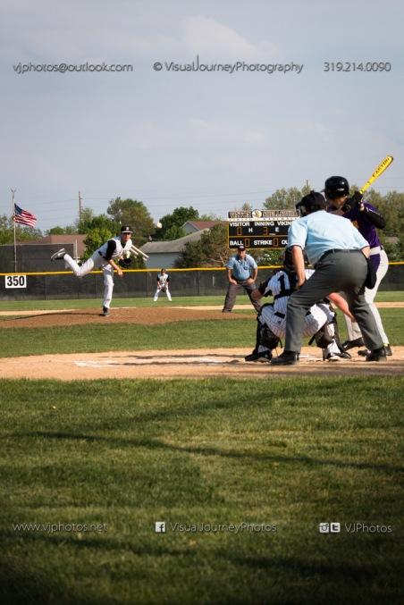 Baseball Varsity Vinton-Shellsburg vs East Marshall 2014-5555