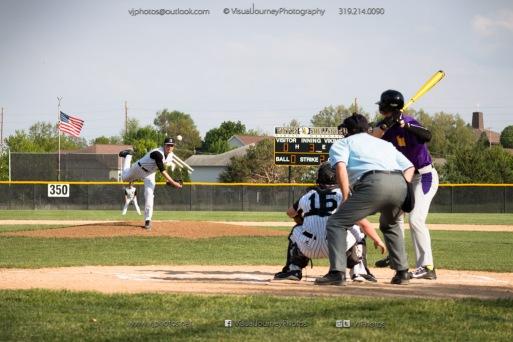Baseball Varsity Vinton-Shellsburg vs East Marshall 2014-5567
