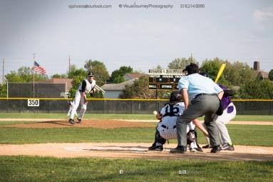 Baseball Varsity Vinton-Shellsburg vs East Marshall 2014-5569