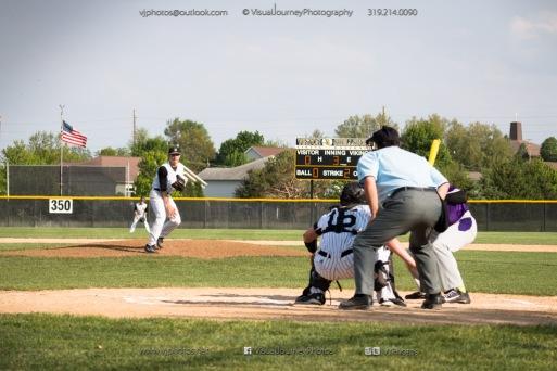 Baseball Varsity Vinton-Shellsburg vs East Marshall 2014-5570