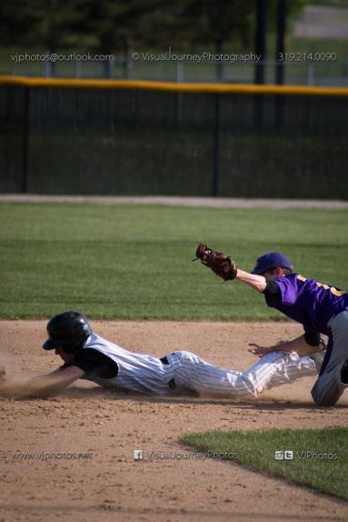 Baseball Varsity Vinton-Shellsburg vs East Marshall 2014-5593