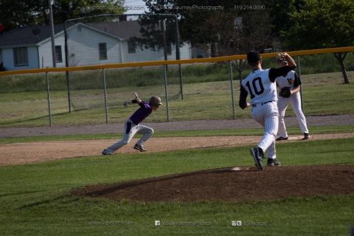 Baseball Varsity Vinton-Shellsburg vs East Marshall 2014-5609