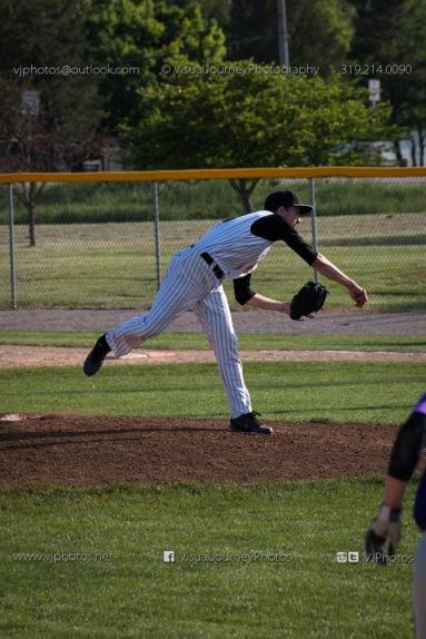 Baseball Varsity Vinton-Shellsburg vs East Marshall 2014-5657