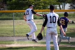 Baseball Varsity Vinton-Shellsburg vs East Marshall 2014-5700