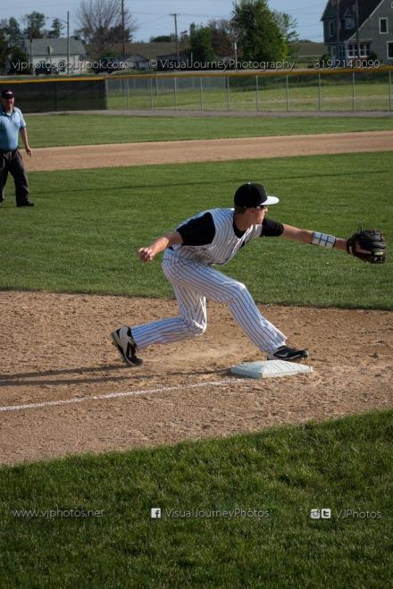 Baseball Varsity Vinton-Shellsburg vs East Marshall 2014-5714