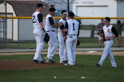 Baseball Varsity Vinton-Shellsburg vs East Marshall 2014-5834