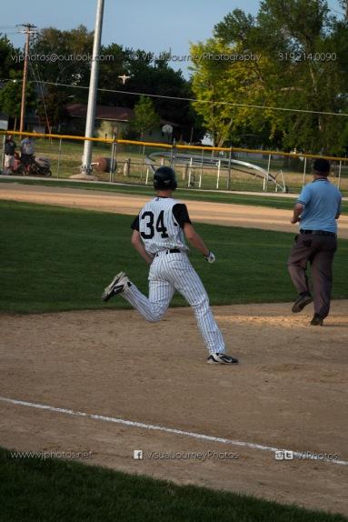 Baseball Varsity Vinton-Shellsburg vs East Marshall 2014-5933