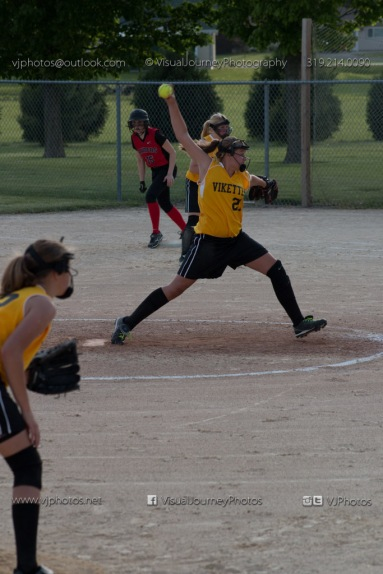 Softball Level 3 Vinton-Shellsburg vs Williamsburg 2014-6125