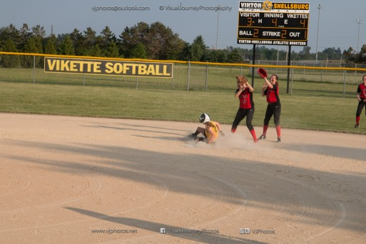 Softball Level 3 Vinton-Shellsburg vs Williamsburg 2014-6148
