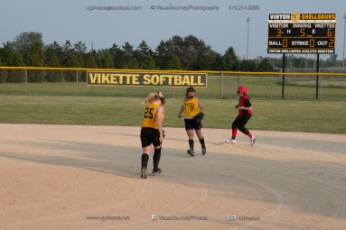 Softball Level 3 Vinton-Shellsburg vs Williamsburg 2014-6163