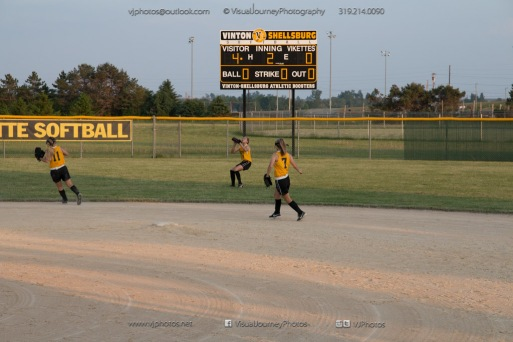 Softball Level 3 Vinton-Shellsburg vs Williamsburg 2014-6261