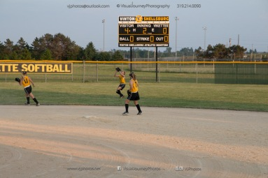 Softball Level 3 Vinton-Shellsburg vs Williamsburg 2014-6263