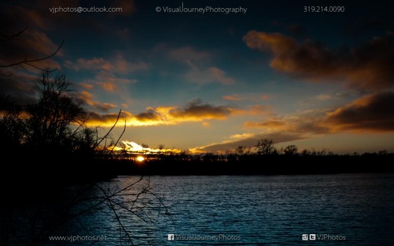 Sunset at Dudgeon Lake