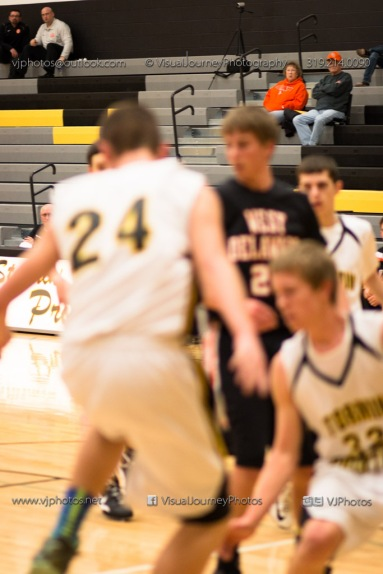 Varsity Basketball CPU vs West Delaware 2014-4305