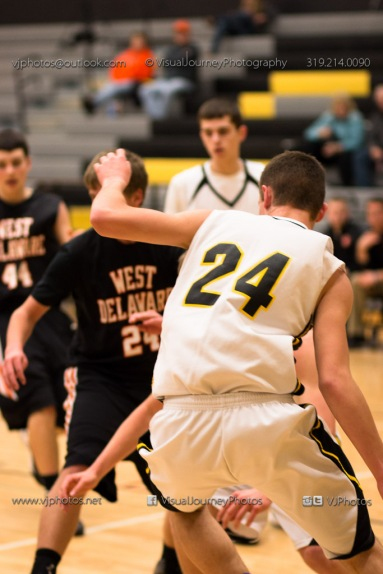 Varsity Basketball CPU vs West Delaware 2014-4306