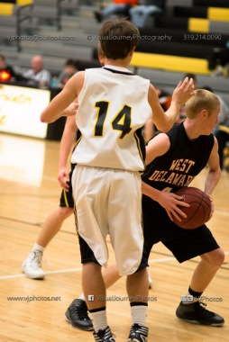 Varsity Basketball CPU vs West Delaware 2014-4311