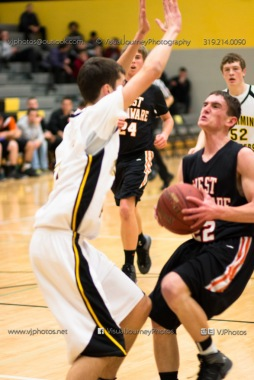 Varsity Basketball CPU vs West Delaware 2014-4332