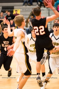 Varsity Basketball CPU vs West Delaware 2014-4376