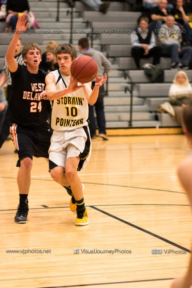 Varsity Basketball CPU vs West Delaware 2014-4388