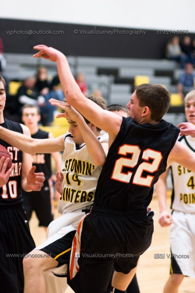 Varsity Basketball CPU vs West Delaware 2014-4405