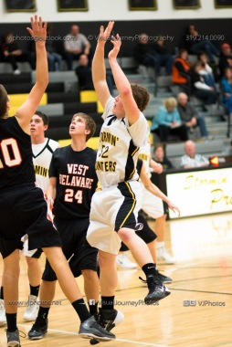 Varsity Basketball CPU vs West Delaware 2014-4470