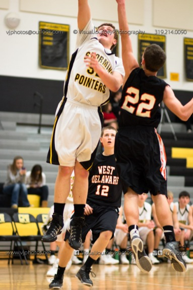 Varsity Basketball CPU vs West Delaware 2014-4494