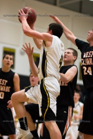 Varsity Basketball CPU vs West Delaware 2014-4503