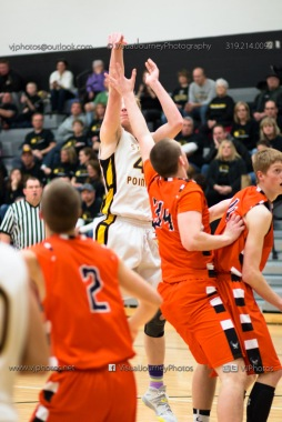 Varsity Basketball CPU vs West Delaware 2014-4830
