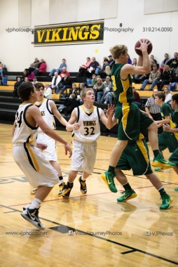 Vinton-Shellsburg vs Beckman Catholic Soph-8397