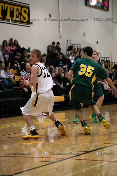 Vinton-Shellsburg vs Beckman Catholic Soph-8570