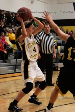 JV Girls Basketball Center Point-Urbana vs Vinton-Shellsburg-1554