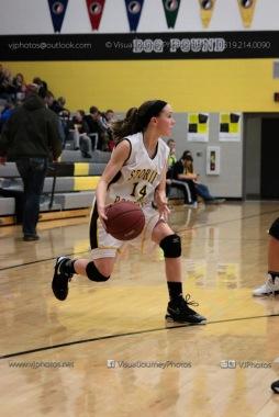 JV Girls Basketball Center Point-Urbana vs Vinton-Shellsburg-1555