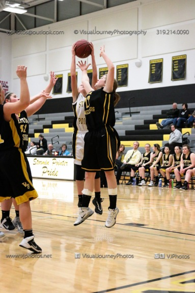 JV Girls Basketball Center Point-Urbana vs Vinton-Shellsburg-1561