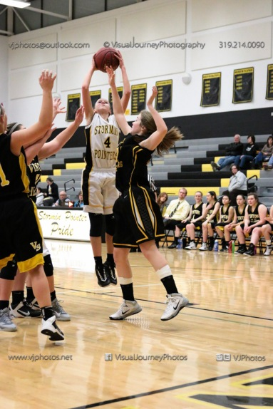 JV Girls Basketball Center Point-Urbana vs Vinton-Shellsburg-1562