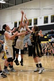 JV Girls Basketball Center Point-Urbana vs Vinton-Shellsburg-1564
