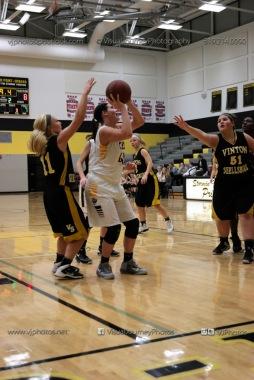 JV Girls Basketball Center Point-Urbana vs Vinton-Shellsburg-1569