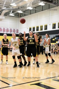 JV Girls Basketball Center Point-Urbana vs Vinton-Shellsburg-1570