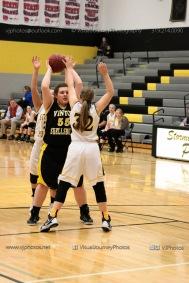 JV Girls Basketball Center Point-Urbana vs Vinton-Shellsburg-1579