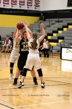 JV Girls Basketball Center Point-Urbana vs Vinton-Shellsburg-1580