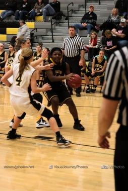 JV Girls Basketball Center Point-Urbana vs Vinton-Shellsburg-1582