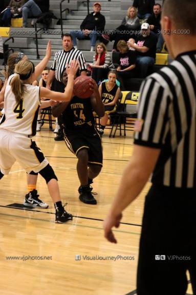 JV Girls Basketball Center Point-Urbana vs Vinton-Shellsburg-1583