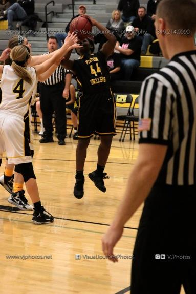 JV Girls Basketball Center Point-Urbana vs Vinton-Shellsburg-1584