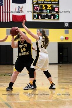 JV Girls Basketball Center Point-Urbana vs Vinton-Shellsburg-1588