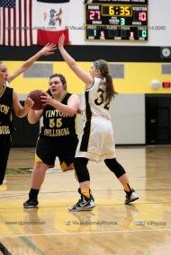 JV Girls Basketball Center Point-Urbana vs Vinton-Shellsburg-1589