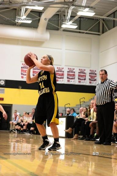 JV Girls Basketball Center Point-Urbana vs Vinton-Shellsburg-1600