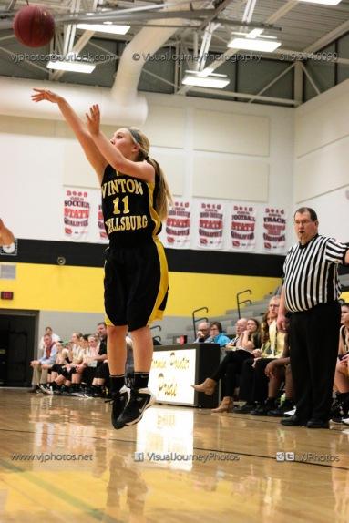 JV Girls Basketball Center Point-Urbana vs Vinton-Shellsburg-1601