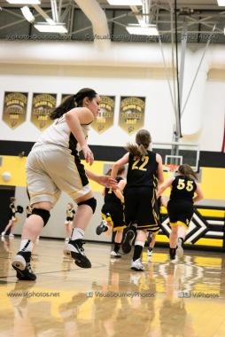 JV Girls Basketball Center Point-Urbana vs Vinton-Shellsburg-1607