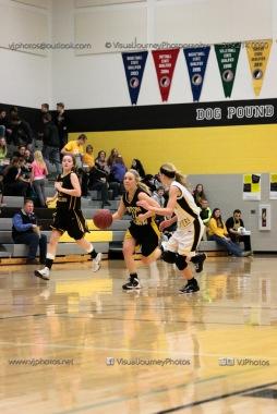 JV Girls Basketball Center Point-Urbana vs Vinton-Shellsburg-1608
